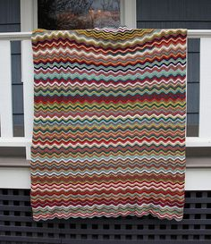 Soft Waves Afghan
