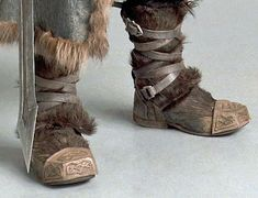 The Hobbit: Thorin Oakenshield Boot Caps