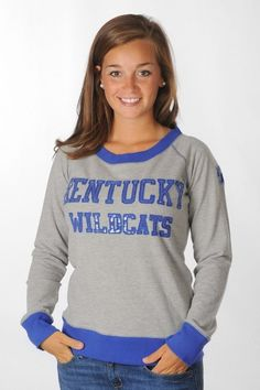 Kentucky Wildcats Sequin Pullover
