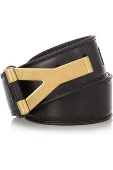 Yves Saint Laurent : chyc leather waist belt