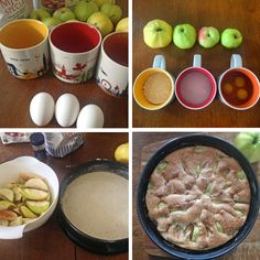 how to make an easy apple cake