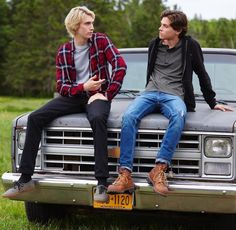 james paxton and tyler young as lukas waldenbeck and philip shea from eyewitness
