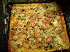 Pizza cu bacon (Romanian)