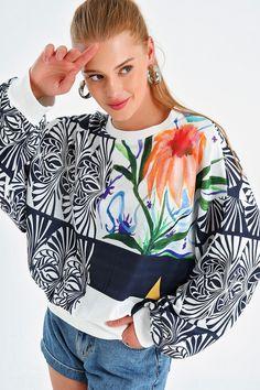 Boutique, Sweatshirts, Online Shopping, Model, Tops, Fashion, Moda, Net Shopping, Sweatshirt