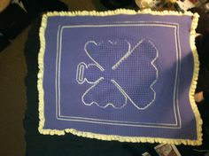 Angel Baby Blanket. Made by: Andrea Williams.