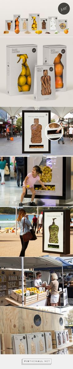 Wildly creative WWF just* Packaging designed to eliminate packaging via The Dieline curated by Packaging Diva PD. Clever packaging design campaign by Leo Burnett agency Web Design, Creative Design, Graphic Design, Guerilla Marketing, Street Marketing, Clever Packaging, Brand Packaging, Creative Advertising, Advertising Design