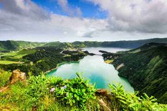 São Miguel Portugal: Expect panoramas of verdant valleys and lakes set in volcanic craters, plus the chance to see whales off the coast and go for a soak in natural hot springs.