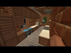 Minecraft How To Install A Kitchen
