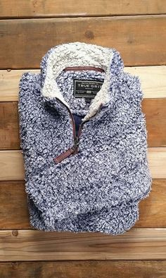 Heathered Quarter Zip Sherpa Pullover in Phantom Grey by The Southern Shirt  Co. - FINAL SALE 98746caa02f