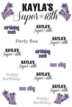 Best of February '13 | 4' x 7' Silver Portable | Kayla's 18th