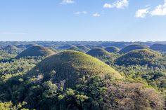 Loboc River and Chocolate Hills, Bohol, Phillipines