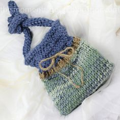 Loom Knit Handbag Pattern. Super Cute PATTERN by ThisMomentisGood!