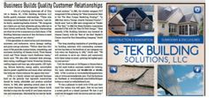 S-Tek Builds Quality Customer Relationships