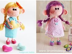 Amigurumi Big-Nosed Doll-Free Pattern
