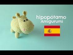 hipopòtamo en crochet Amigurumi | World Of Amigurumi - YouTube