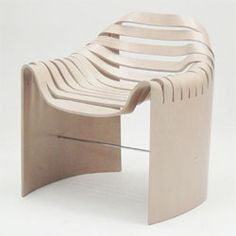 Nice molded plywood chair by Naruse Inokuma Architects for the Tendo Mokko furniture company.