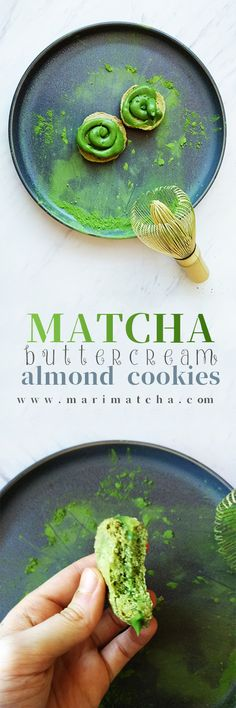 When life gives you Macarons, make... Matcha Almond cookies??  These crunchy and chewy Matcha almond cookies aren't only sweet and delicious, their also packed with anti-aging and metabolism boosting antioxidants!   #love #matcha #macha #抹茶 #お茶 #matchatea #matchalatte #matchalover #matchalovers #matchagreentea #matchaholic #matchaddict #greentea #greentealatte #tea #tealover #health #antioxidants #organic #natural #detox #japan #日本 #matcharecipe #recipe #recipes #antioxidants #healthy