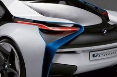 Automotive Trends- BMW Design Concept Car, visually stunning exterior detail