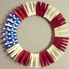 This would be adorable for 4th of July and Halloween with black and orange ones.
