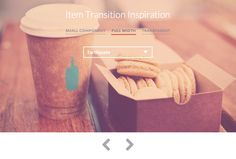 Inspiration for Item Transitions, #Animation, #Code, #CSS, #CSS3, #HTML, #HTML5, #Resource, #Slideshow, #Snippets, #Transition, #Web #Design, #Development