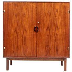 Solid Teak Wood Cabinet by Peter Hvidt and Orla Mølgaard-Nielsen