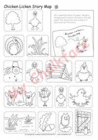 Chicken Licken Story Map (Literacy)
