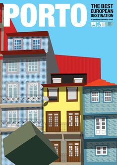 porto illustration - Pesquisa do Google Porto Portugal, Portugal Travel, Freedom Art, Vintage Travel Posters, Poster Vintage, Tourism Poster, Across The Universe, Destinations, Tabu