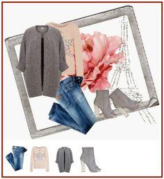 Invierno de lana gris. Déjate envolver por este sencillo pero efectivo look con el que podrás afrontar tanto los dias como las noches de invierno: http://eljardindepapa.blogspot.com.es/2014/01/invierno-de-lana-gris.html