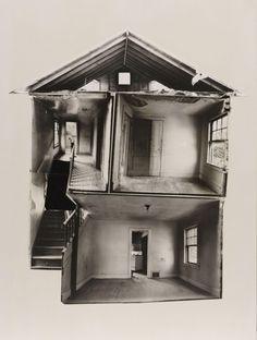 Arte y Arquitectura: Building Cuts, Gordon Matta Clark.