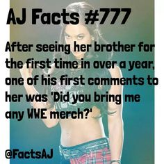 FactsAJ Cm Punk Aj Lee, Wrestling Quotes, Wwe Pictures, Iron Gates, Her Brother, Ww2, 18th, Idol, Facts