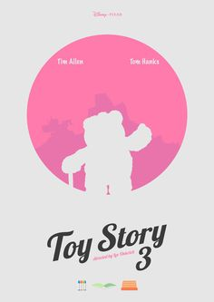 Toy Story 3 - minimal poster Art Print