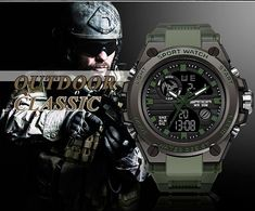 2018 New SANDA 739 Sports Men's Watches Top Brand Luxury Military Quartz Watch Men Waterproof S Shock Clock relogio masculino - Online Shopping Store With Free Worldwide Shipping Army Watches, Cool Watches, Watches For Men, Popular Watches, Casual Watches, Best Military Watch, Digital Wrist Watch, Mens Sport Watches, S Shock