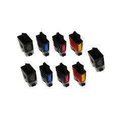 N 9PK Compatible LC41BK LC41C LC41M LC41Y 2Sets + 1BK Ink Cartridge For Brother FAX1840C 1940CN 2440C