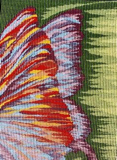 """Stewart Tapestries """"Abstract"""" theme tapestry of butterfly wings, """"Fantasy…"""