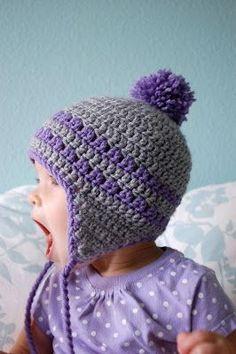 506a77b8a3f 10 Free Basic Beanie Crochet Patterns. Crochet Toddler HatCrochet Kids ...