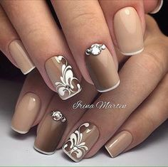Rather+unusual+variant+of+French+manicure+is+presented+for+you+here.+No+pink+is+chosen+for+the+base+of+the+...