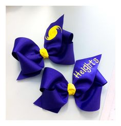 Heights bows