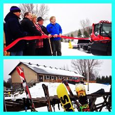 Congrats to @skisnowvalley on the grand opening of your brand new Day Lodge today! #SkiSnowValley #congrats #grandopening #getoutandplay #winterfun #Barrie #visitbarrie tourismbarrie's photo on Instagram