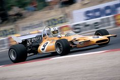 Denny Hulme, McLaren-Ford M19A, 1971 French GP, Le Castellet