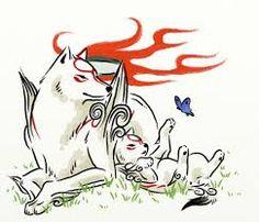 #Ookami #Amaterasu #Okami #VideoGame #PlayStation #WhiteWolf #Wolf | Amaterasu | Ookami | Okami | Video Game | PlayStation | White Wolf | Wolf