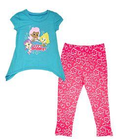 bubble guppies pink danceu0027 bubble guppies tunic u0026 leggings set toddler