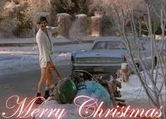 """Merry Christmas!  Cousin Eddie. Griswold Christmas. """"National Lampoon's Christmas Vacation""""."""