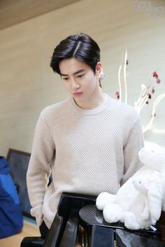 Suho - 170210 MBC 'The Universe's Star' website update Credit: MBC. (MBC '우주의 별이')