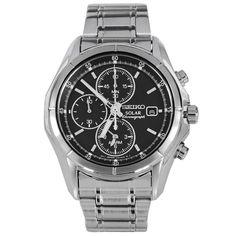 SSC005P1 Seiko Solar Chronograph Mens Watch