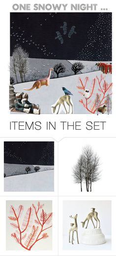 One snowy night ... by belinda-evans on Polyvore featuring art