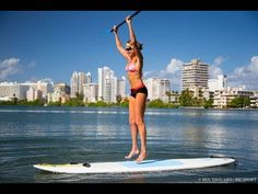 SUP Cardio Workout - Great Stand Up Paddling Workout - YouTube