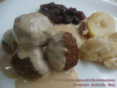 Chocolate Molinillo: Albóndigas Suecas