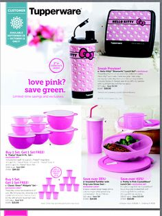 I love Tupperware!  Great sales or join my team. Go to www.mytupperware.com/BytheBay