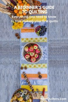 A Beginner's Guide to Quilting Quilting For Beginners, Quilting Tips, Quilting Tutorials, Machine Quilting, Small Quilts, Easy Quilts, History Of Quilting, Sewing Labels, Make A Table