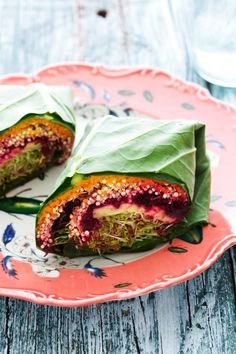 Quinoa Collard Wraps | 43 No-Cook Dinners You Can Make Without Turning On Your Stove